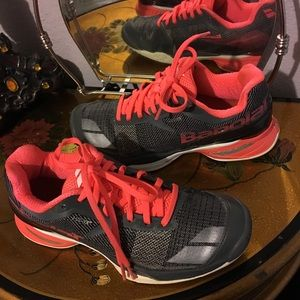 Babolat shoes size 6. for sale